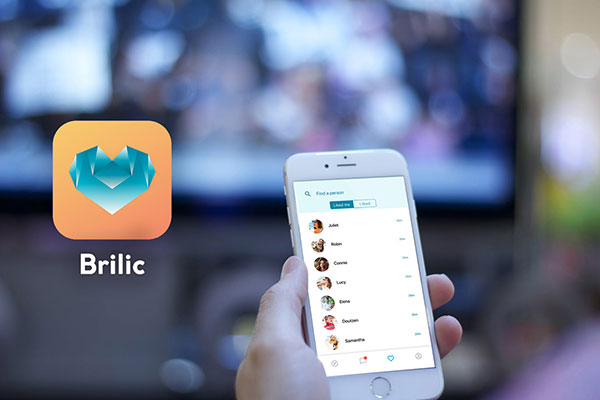 Search for a partner on the go with Brilic app